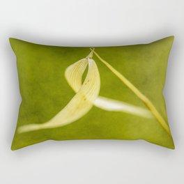 spike on green Rectangular Pillow