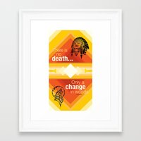 native american Framed Art Prints featuring Native American by Chris Cammarota