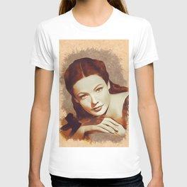 Gene Tierney, Hollywood Legend T-shirt