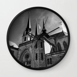 Notre-Dame Luxemburg Wall Clock