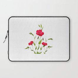 wild red flax Laptop Sleeve