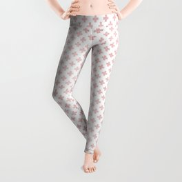 Simply Crosses in Rose Gold Sunset Leggings