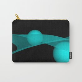turquoise wave Carry-All Pouch
