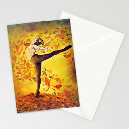 Autumnal Spirit by Mary Bottom Stationery Cards