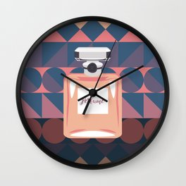 Aztec Perfume Wall Clock