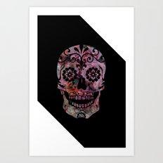 Rachel's Skull Art Print