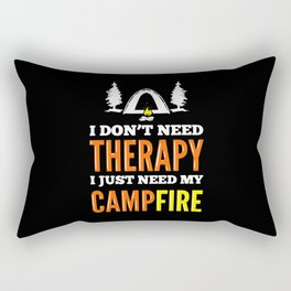 Camping Hiking Outdoor Rectangular Pillow