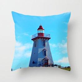Souris PEI Lighthouse Throw Pillow