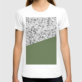 Granite and Kale Color T-shirt