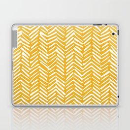 Boho Mudcloth Pattern, Summer Yellow Laptop & iPad Skin
