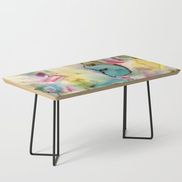 green absstract Coffee Table