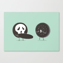 Cookies and Scream Canvas Print