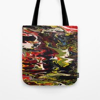 acid Tote Bags featuring Acid by Jordan Luckow