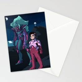 Pilot Steven with Eva Unit Alexandrite Stationery Cards