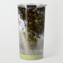 Sprinklers in Central Park Travel Mug