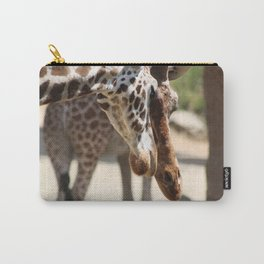 Giraffe Love Carry-All Pouch