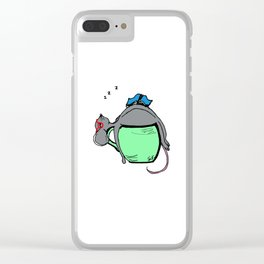 The Great Nap Clear iPhone Case