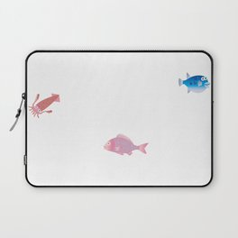 Snapper, Squid and Globefish Laptop Sleeve