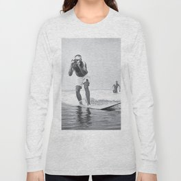 The Surfing Photographer Long Sleeve T-shirt