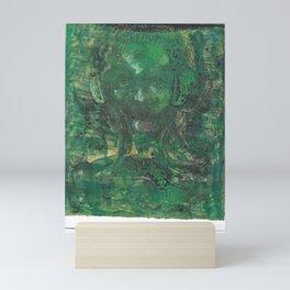 Green Sound Mini Art Print