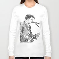 alex turner Long Sleeve T-shirts featuring alex turner [4] by roanne Q