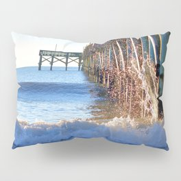 Crashing Waves At Pier Pillow Sham