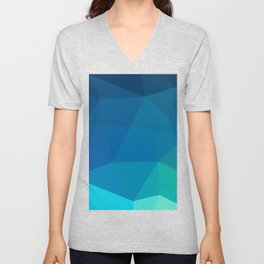Blue 02 Unisex V-Neck