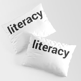 literacy Pillow Sham