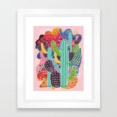 Summer Heat Framed Art Print