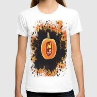 groot T-shirts featuring Groot pumpkin  by grapeloverarts
