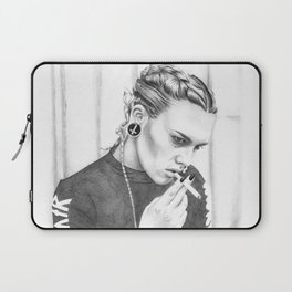 Blazed and confused Laptop Sleeve