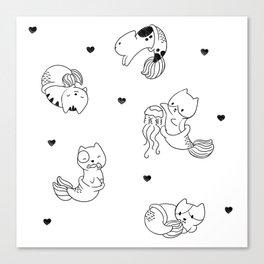 Mercats Canvas Print