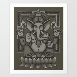 Lord Ganesha Art Print