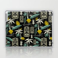 Island Tiki - Black Laptop & iPad Skin