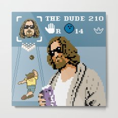 The Big Lebowski - The Dude Abides Metal Print