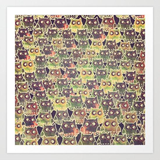owl-83 Art Print