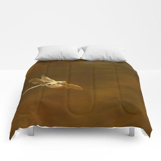Dragonfly In Flight  Comforters