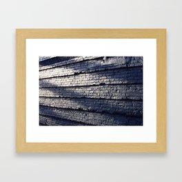 Sideswiped  Framed Art Print
