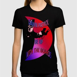 Dawn Patrol - Red Be Up With The Boards Kitesurf T-shirt