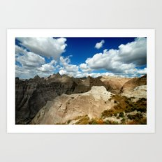 bandlands baby. Art Print