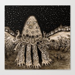 The Horror from Dunwich Canvas Print