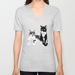 Bumpers and Petey Unisex V-Neck