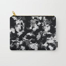 Shades of Gray and Black Oils #1979 Carry-All Pouch