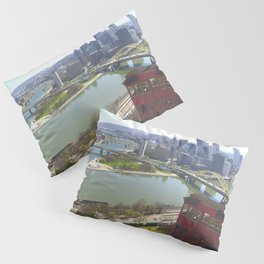 Downtown Pittsburgh point and incline 32 Pillow Sham