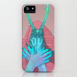 Goat Head iPhone Case