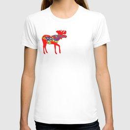 Graphic Moose 01 Swedish Dala Male T-shirt
