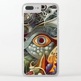 All Seeing Clear iPhone Case