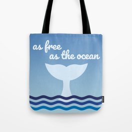 The Free Whale Tote Bag