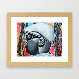 Notorious Coogi Framed Art Print