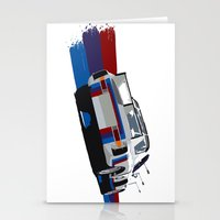 bmw Stationery Cards featuring BMW Art by SABIRO DESIGN